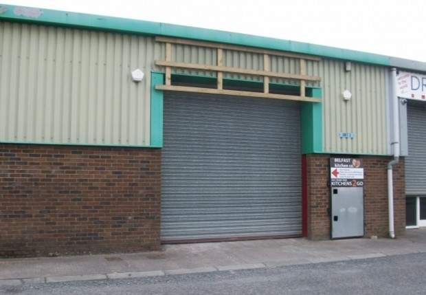 Thumbnail Warehouse to let in Unit 3, Edgar Industrial Estate, Comber Road, Carryduff, County Down