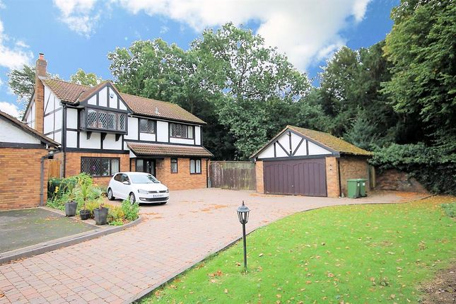 Thumbnail Detached house for sale in Belvoir, Dosthill, Tamworth