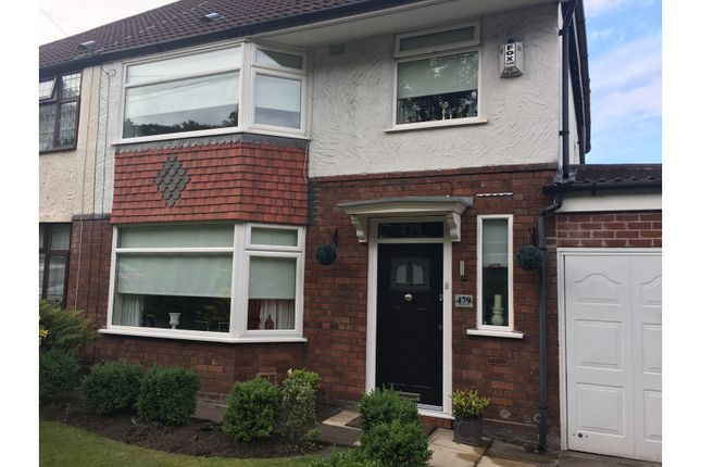 Semi-detached house for sale in Woolton Road, Liverpool