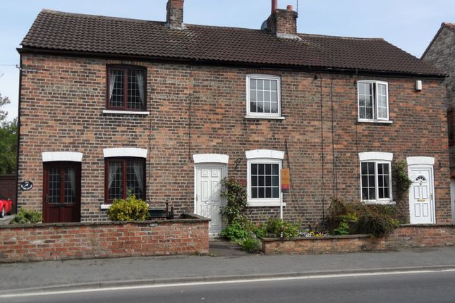 Thumbnail 2 bed detached house to rent in 2 Elm Tree Cottages, Main Street, Towton