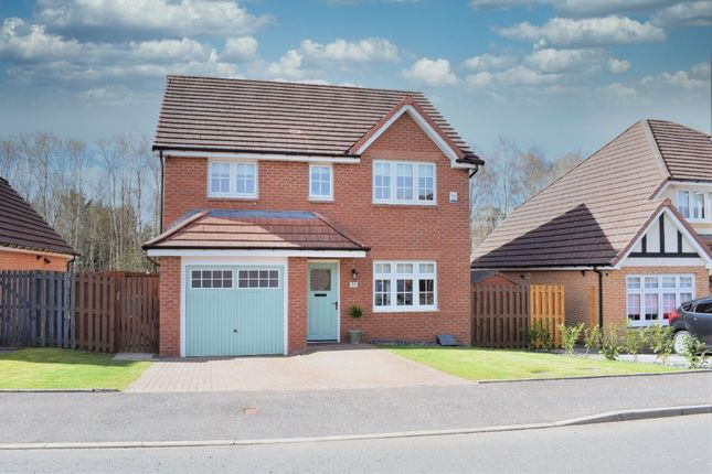 Thumbnail Detached house for sale in Vesuvius Drive, Motherwell, Lanarkshire