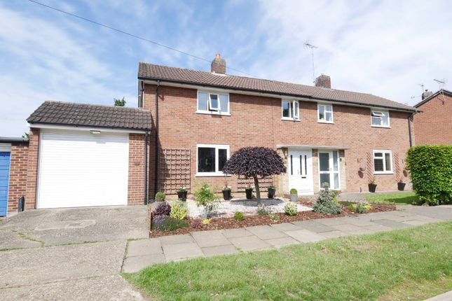 Thumbnail Semi-detached house for sale in Burymead, Stevenage
