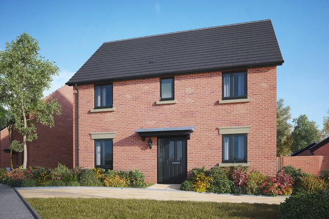 """Thumbnail Detached house for sale in """"The Clarence"""" at Gidding Road, Sawtry, Huntingdon"""