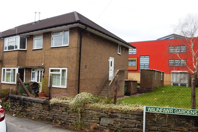 Thumbnail Flat to rent in Waunfawr Gardens, Crosskeys, Risca