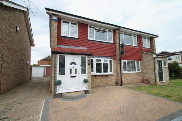 Thumbnail Semi-detached house for sale in Hope Avenue, Stanford-Le-Hope