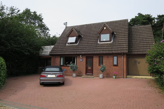 Thumbnail Detached house for sale in Woods Close, Hellesdon, Norwich