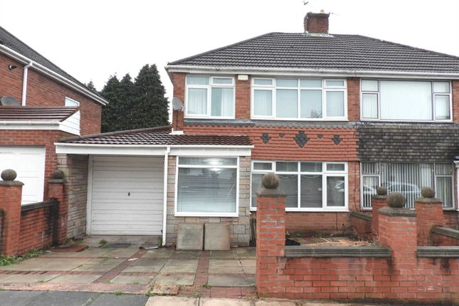 Thumbnail Semi-detached house for sale in Alder Crescent, Kirkby, Liverpool