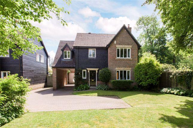 Thumbnail Detached house for sale in Garrett Close, Kingsclere, Newbury, Hampshire
