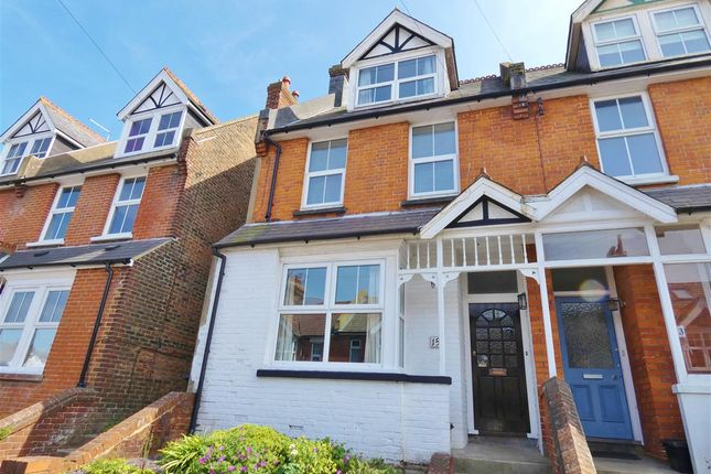 Thumbnail Terraced house for sale in Greenfield Road, Eastbourne