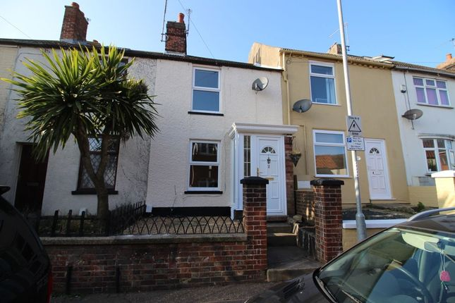 Thumbnail Terraced house to rent in Back Pier Plain, Gorleston, Great Yarmouth