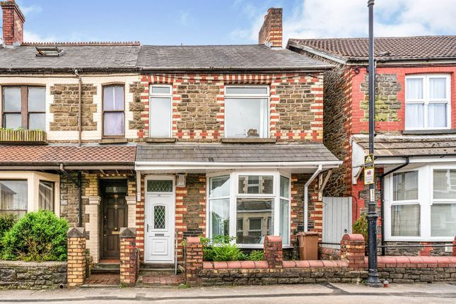 3 bed terraced house for sale in Bartlett Street, Caerphilly CF83