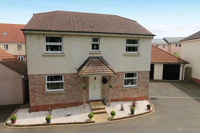 Thumbnail Detached house for sale in Alma Villa Rise, Cranbrook, Exeter
