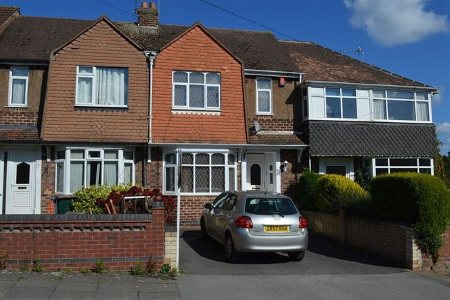 Thumbnail Terraced house to rent in Omar Road, Poets Corner, Coventry