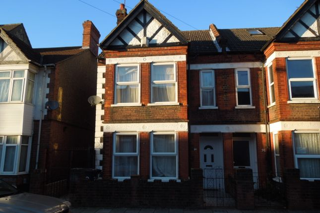 Thumbnail Semi-detached house to rent in Clarendon Road, Luton