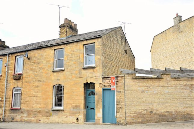 Thumbnail End terrace house to rent in Wharf Road, Stamford