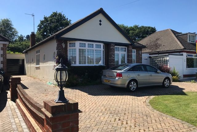 Thumbnail Detached bungalow for sale in The Meadway, Cuffley