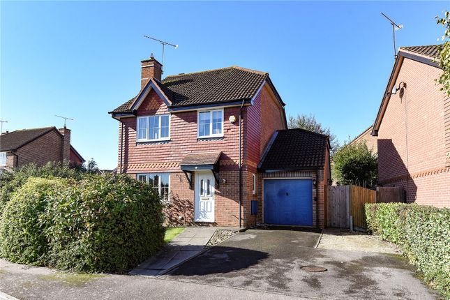 Thumbnail Detached house to rent in Mary Mead, Warfield, Berkshire