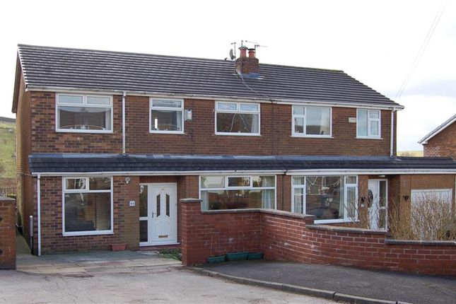 Thumbnail Semi-detached house for sale in Clough Road, Shaw, Oldham