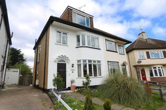 Thumbnail Semi-detached house for sale in Woodcroft Close, Hadleigh, Benfleet