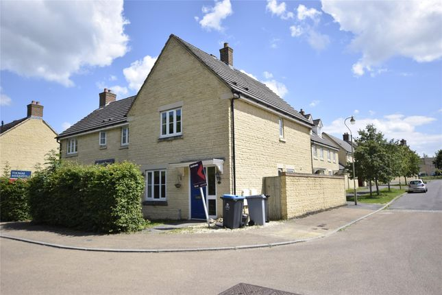 Thumbnail Semi-detached house to rent in Fallowfield Crescent, Witney, Oxfordshire