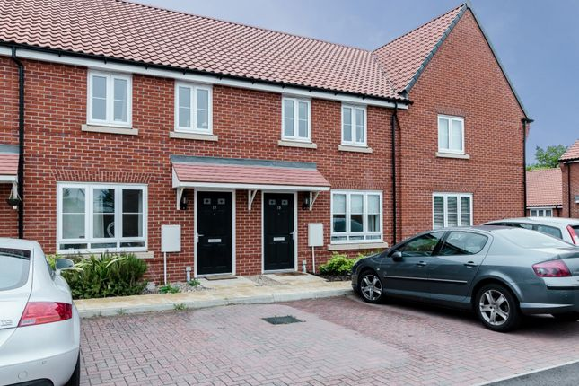 Thumbnail Terraced house for sale in Franklin Road, Saxmundham, Suffolk