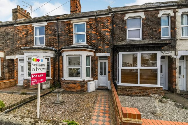 2 bed terraced house for sale in Tennyson Avenue, King's Lynn PE30