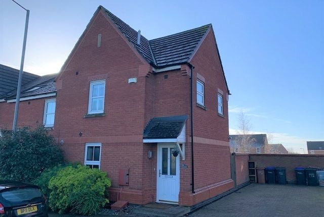3 bed end terrace house to rent in Brigadier Close, Wootton, Northampton NN4