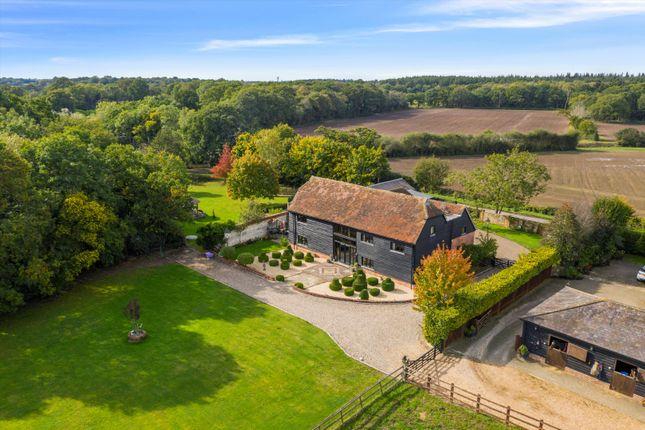 Thumbnail Barn conversion for sale in Howe Lane, Binfield, Berkshire