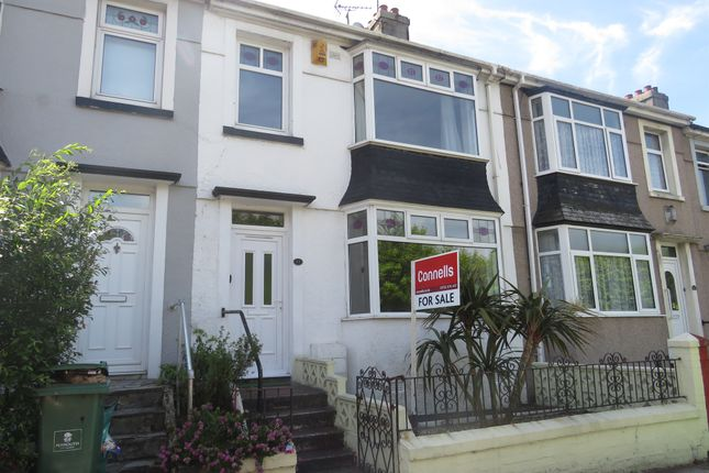 Thumbnail Terraced house for sale in St. Levan Road, Plymouth