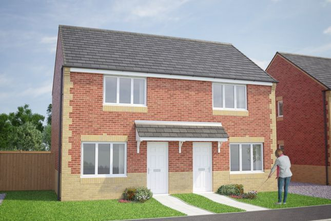 2 bed semi-detached house for sale in The Cork, St Aidan's Way, Chilton, Ferryhill