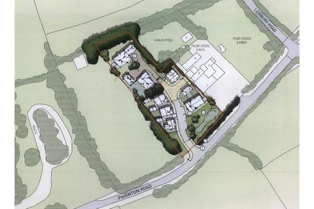 Thumbnail Land for sale in Land At Four Cross, Paignton Road, Stoke Gabriel, Totnes, Devon