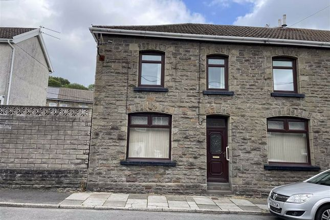 Thumbnail End terrace house for sale in Greenfield Terrace, Abercynon, Mountain Ash