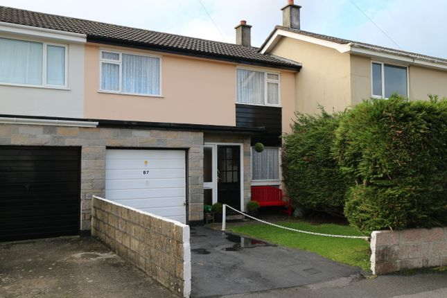 Thumbnail Terraced house for sale in Pendrea Park, North Roskear, Camborne