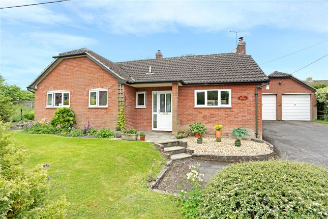 Thumbnail Detached bungalow for sale in The Street, Cherhill, Calne, Wiltshire