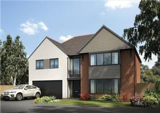 Thumbnail Detached house for sale in The Redwood, Holystone Way, Holystone, Newcastle Upon Tyne