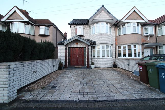 Thumbnail Terraced house to rent in Exeter Road, Harrow, Middlesex