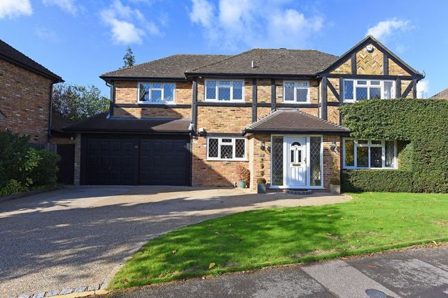 Thumbnail Detached house for sale in St. Leonard's Avenue, Chineham, Basingstoke