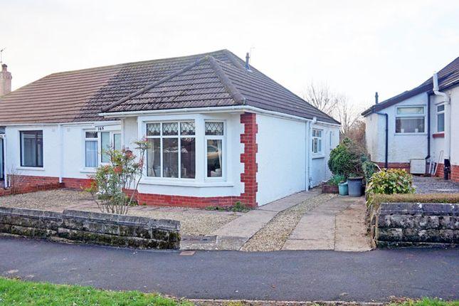 Thumbnail Semi-detached bungalow for sale in Lavernock Road, Penarth