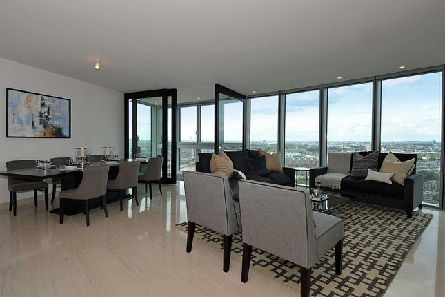 3 bed flat for sale in The Tower, 1 St George Wharf, Vauxhall, London