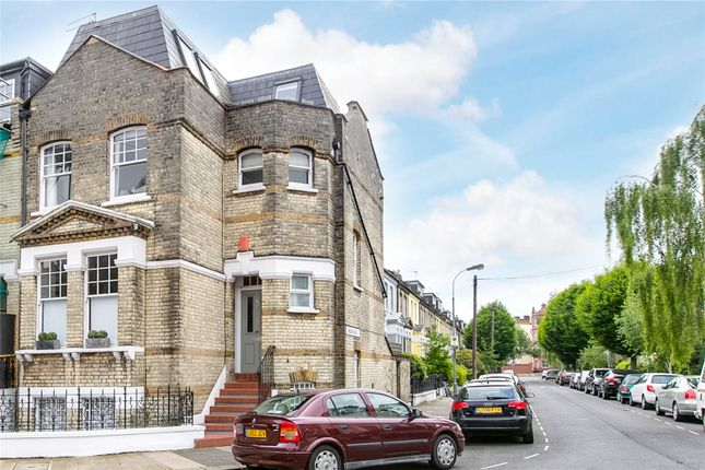 External of Chesson Road, Fulham, London W14