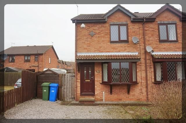 Thumbnail Semi-detached house to rent in Grassam Close, Preston, East Yorkshire