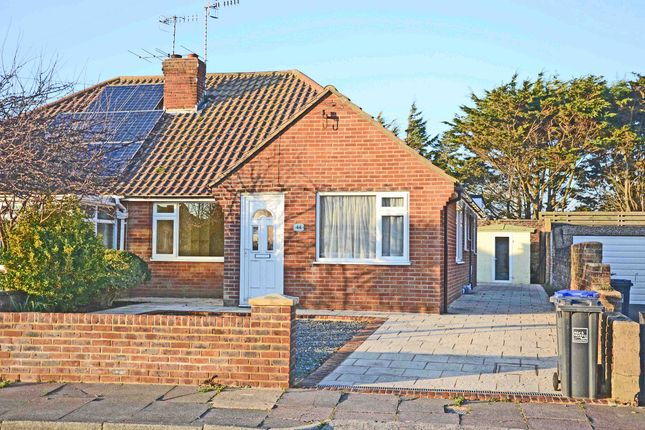 Thumbnail Semi-detached bungalow to rent in Seamill Park Crescent, Worthing
