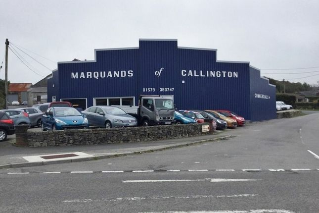 Thumbnail Retail premises for sale in Florence Road, Callington