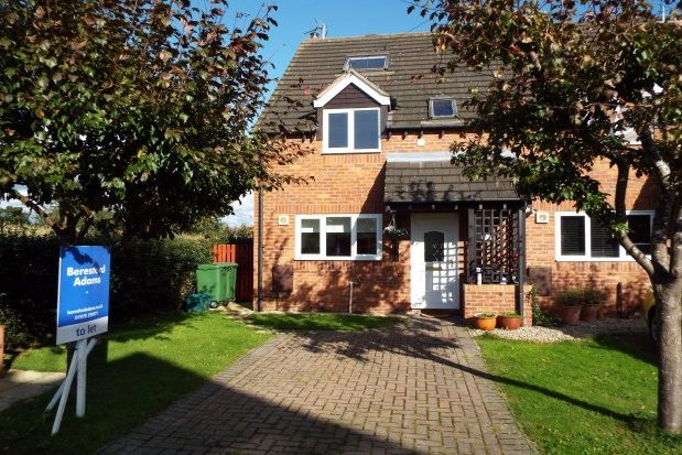 Thumbnail End terrace house to rent in The Orchards, Holt, Wrexham