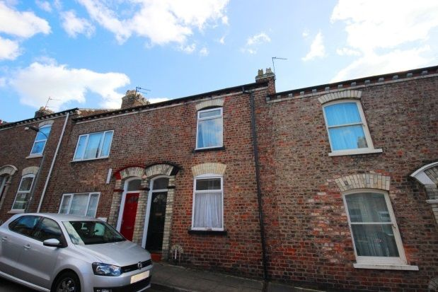 Thumbnail Terraced house to rent in Adelaide Street, York