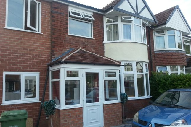 Thumbnail Semi-detached house to rent in Chestnut Drive, Sale, Greater Manchester