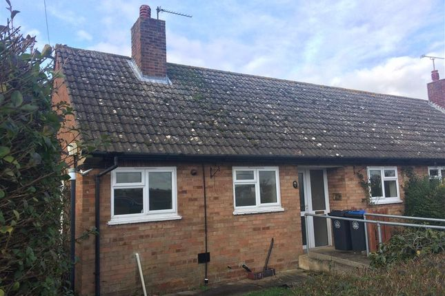 Thumbnail Terraced bungalow for sale in Goose Lane, Lower Quinton, Stratford-Upon-Avon
