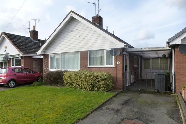 Thumbnail Bungalow to rent in The Deansway, Kidderminster