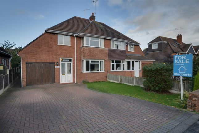 Semi-detached house for sale in Weston Road, Stafford