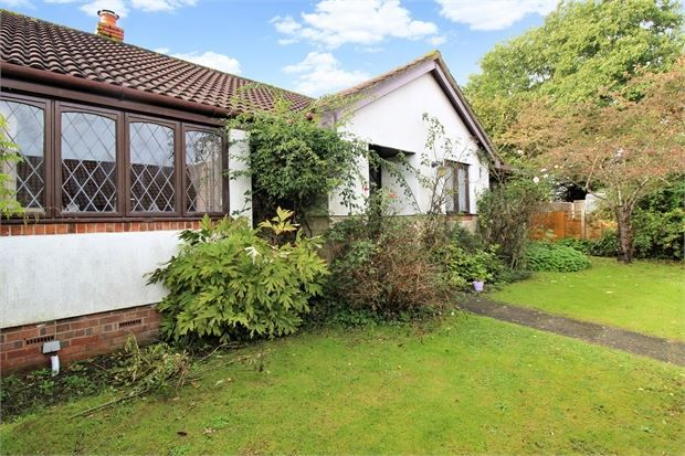 Thumbnail Detached bungalow for sale in Rivendell, Worle, Weston-Super-Mare, North Somerset.